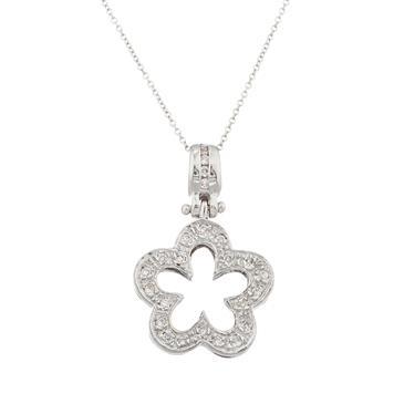 Fancy diamond star pendant in 14kt white gold forever diamonds fancy diamond star pendant in 14kt white gold aloadofball Images